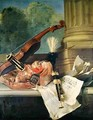 Attributes of Music - Jean-Baptiste Oudry