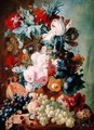 Flowers and Fruit - Jan van Os