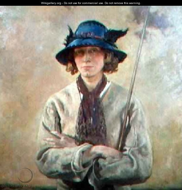 The Angler - Sir William Newenham Montague Orpen