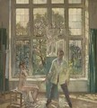 Summer Afternoon Artist in his Studio with a Model, c. 1913 - Sir William Newenham Montague Orpen