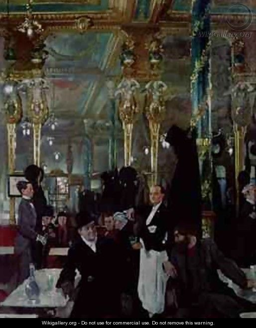 Cafe Royal, London, 1912 - Sir William Newenham Montague Orpen
