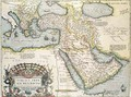 Map of the Middle East, from Theatrvm Orbis Terrarvm, 1570 - Abraham Ortelius