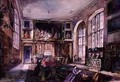 The Hall Loseley Park Surrey 1865 - Rebecca Dulcibella Orpen