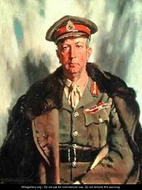 Lieutenant-General Sir A.W. Currie 1875-1933 c.1918 - Sir William Newenham Montague Orpen