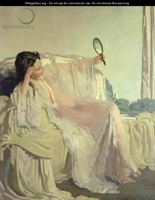 The Eastern Gown, 1906 - Sir William Newenham Montague Orpen