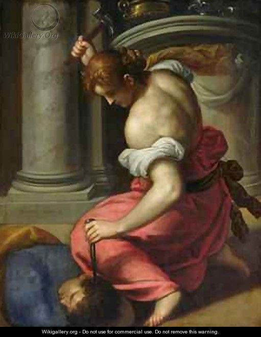 The Death of Sisera - Jacopo d