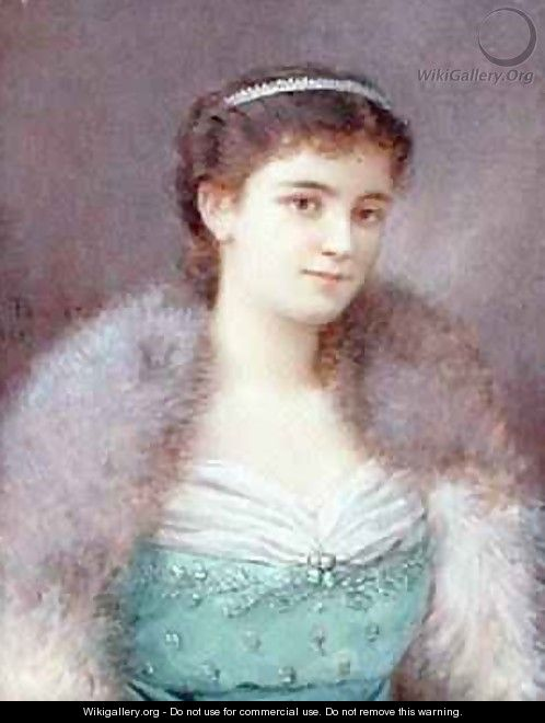 Mary Victoria Leiter, Lady Curzon 1836-1906 1889 - Fernand Paillet