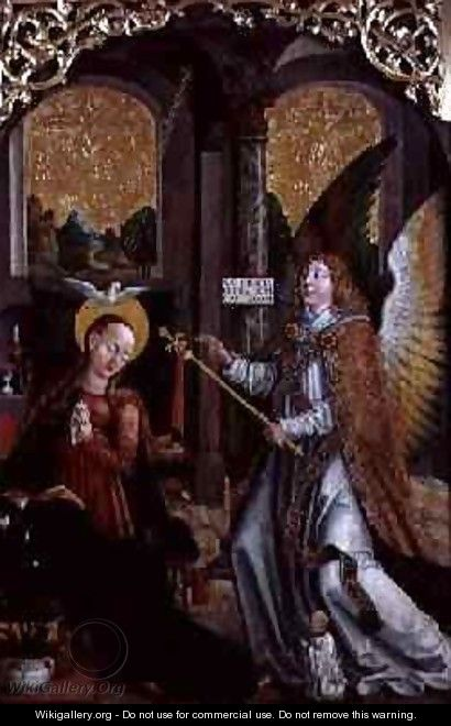 The Annunciation, 1517 - Jerzy Painter
