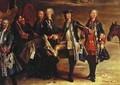 The Kings Boot, detail from the Meeting for the Puits-du-Roi Hunt at Compiegne - Jean-Baptiste Oudry