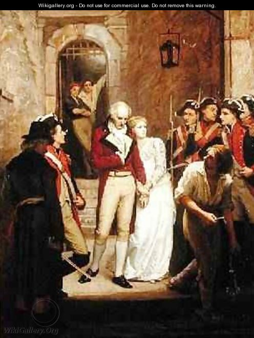 Scene from the French Revolution - Walter William Ouless