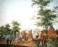 View of the Zylpoort, Harlem, 1780 - Isaak Ouwater