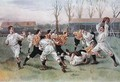 The Football Match, 1890 - (after) Overend, William Heysham
