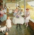 Family Gathering, 1919 - Pauline Lennards Palmer