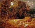 The Harvest Moon, 1833 - Samuel Palmer