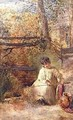 A Boy Fishing - Samuel Palmer