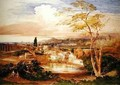 Rome from the Borghese Gardens, 1837 - Samuel Palmer