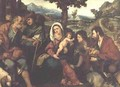 The Adoration of the Shepherds - Jacopo d'Antonio Negretti (see Palma Vecchio)
