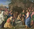 The Resurrection of Lazarus, c.1508-10 - Jacopo d'Antonio Negretti (see Palma Vecchio)