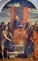 St. Peter Enthroned with Saints - Jacopo d'Antonio Negretti (see Palma Vecchio)