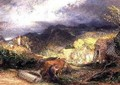 The Bellman with Oxen - Samuel Palmer
