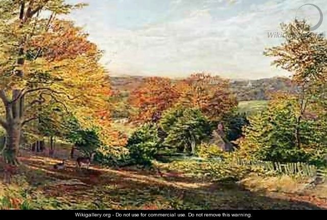 Otford Church - Samuel Palmer