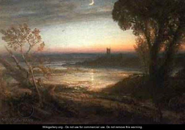 The Curfew - Samuel Palmer