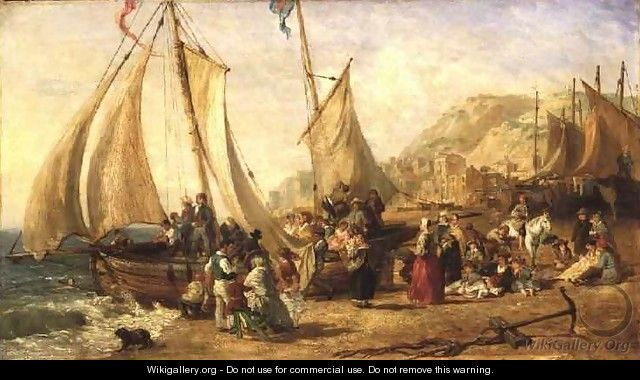 Life at the Seaside - William Parrott