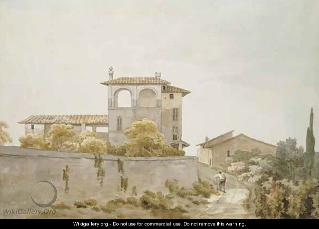An Italian Villa - William Pars