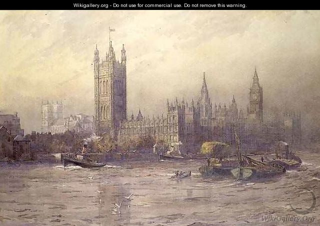The Houses of Parliament - Maude Parker