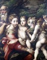 The Holy Family Rest on the Flight to Egypt 1524 - Girolamo Francesco Maria Mazzola (Parmigianino)