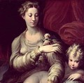 Madonna of the Rose, 1528-30 2 - Girolamo Francesco Maria Mazzola (Parmigianino)