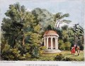 Temple of Pan, Kew Gardens, plate 12 from Kew Gardens A Series of Twenty-Four Drawings on Stone, engraved by Charles Hullmandel 1789-1850 published 1820 - (after) Papendiek, George Ernest