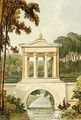 The Temple Bridge, from Ackermanns Repository of Arts, 1822 - John Buonarotti Papworth