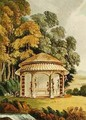A Woodland Seat, from Ackermanns Repository of Arts, 1809-28 - John Buonarotti Papworth