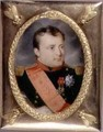 Portrait Miniature of Napoleon Bonaparte 1769-1821 1815 - J. Parent