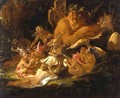 Puck and Fairies, from A Midsummer Nights Dream, c.1850 - Sir Joseph Noel Paton