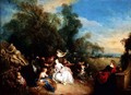Relaxation in the Country - Jean-Baptiste Joseph Pater