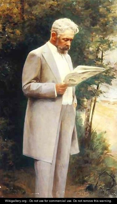 Portrait of the author Nikolay G. Garin 1852-1906 1905 - I Pass