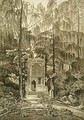 View of the Chapel in the Garden at Strawberry Hill, engraved by Godfrey, 1784 - William Pars