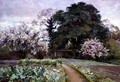 A Kitchen Garden, Frome, Somerset - Alfred Parsons