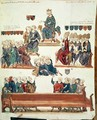 Ms 1796 f.7 The Trial of Robert dArtois 1287-1342, Count of Beaumont, presided over by Philip VI 1293-1350 in 1331 - Nicolas Claude Fabri de Peiresc