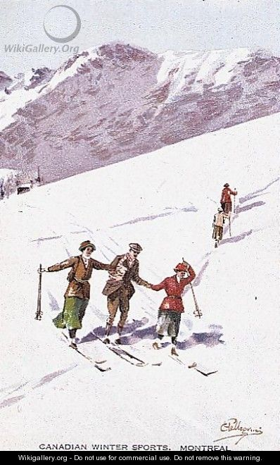 Canadian Winter Sports, Montreal - Carlo Pellegrini