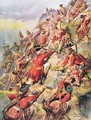 Scaling the Heights of Abraham, illustration from Glorious Battles of English History by Major C.H. Wylly, 1920s - Henry A. (Harry) Payne