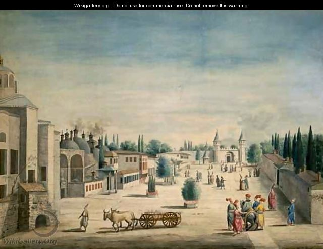 The Sultans Palace, Constantinople 180-75 - J. Payne