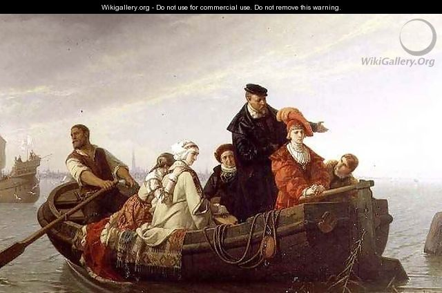 Spaniards Leaving the Netherlands, 1871 - Ferdinand Wilhelm Pauwels