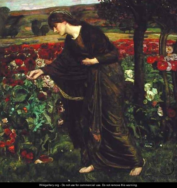 In the Garden of Proserpina, 1893 - Henry A. (Harry) Payne