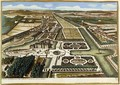 General View of Chantilly, from Vues des belles maisons de France, published 1680 - Adam Perelle