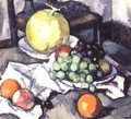 Still Life with Melons and Grapes - Samuel John Peploe