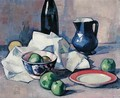 Still Life, Black Bottle, c.1916 - Samuel John Peploe