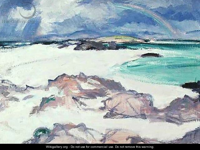 The Rainbow, c.1924 - Samuel John Peploe